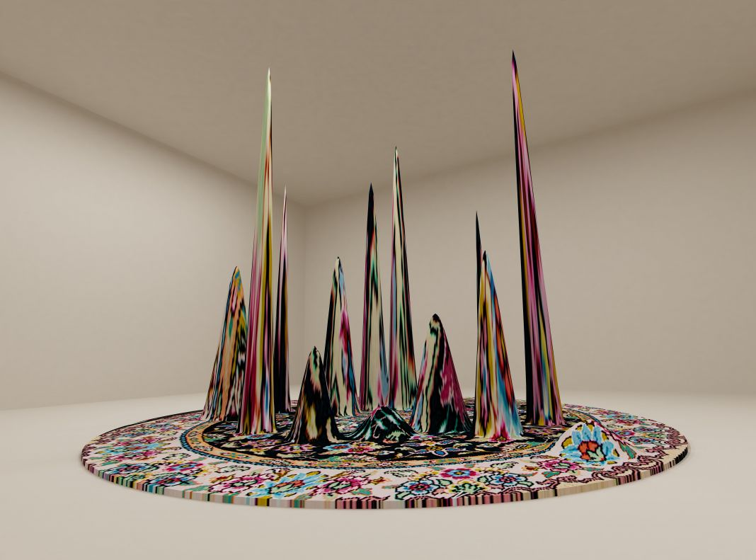Faig Ahmed, Carpet Equalizer (2012)