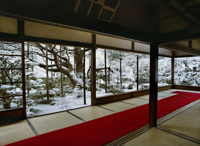 'Hosen-in 1, Winter, North Kyoto, 14 February 2011' © Jacqueline Hassink.