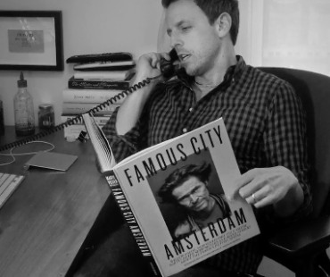 Famous City Amsterdam – Seth Meyers complains!